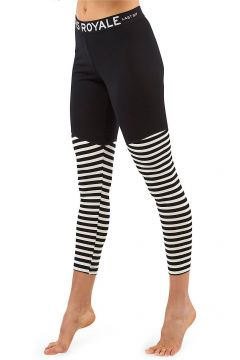 Mons Royale Merino Christy Leggings Tech Pants black/thick stripe(97838146)