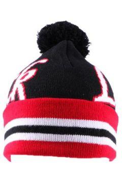 Bonnet Nyls Création Bonnet Luck Noir Blanc et Rouge avec pompon(98753551)