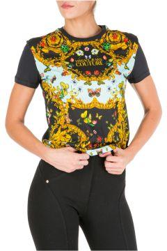 Women's t-shirt short sleeve crew neck round ladybug baroque(115854105)