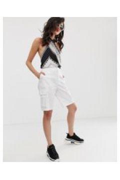 Na-kd - Weiße Cargo-Shorts - Weiß(90473489)