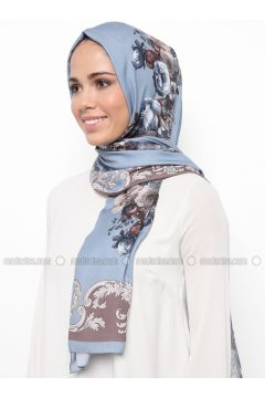 Multi - Printed - Shawl - Karaca Eşarp(110342671)