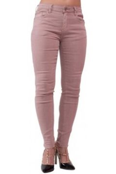 Jeans skinny Primtex Jean skinny rose parme taille haute coupe stretch(88678986)