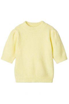 NAME IT Gebreid T-shirt Dames Geel(111127900)