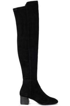 Bottes Tory Burch Bottes hautes modèle Nina en cuir suédé noir(115532290)