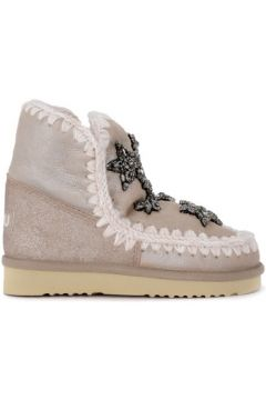Bottes neige enfant Mou Demi-botte modèle Eskimo 18 Crystal Stars stone en peau de(101556064)