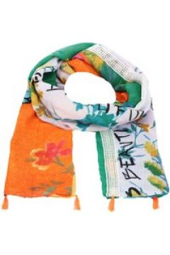 Foul Patch Love Schal 190 cm Desigual apricot orange(114170104)
