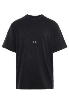 J.LINDEBERG Gabriel Cotton T-shirt Heren Zwart(108404800)