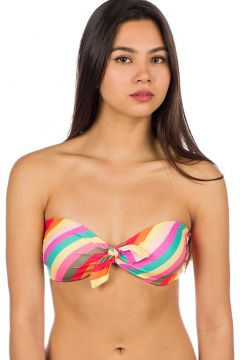 Billabong Sol Searcher Tied Bandeau Bikini Top stripes(114554660)
