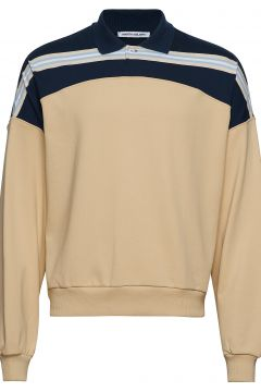 Richie Polo Sweat-shirt Pullover Gelb MARTIN ASBJØRN(114152595)