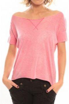 T-shirt So Charlotte Tight short sleeves Tee all snake T53-406-00 Rose(98751007)