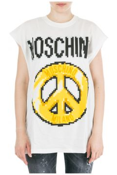 Women's t-shirt short sleeve crew neck round peace pixel capsule(81471752)