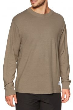 Afends Living Hemp Retro Fit Langarm-T-Shirt - Sand(111100949)