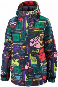 Westbeach Tate Printed Jacket zwart(107451907)