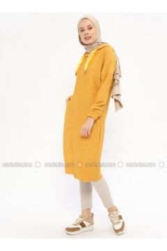 Yellow - Unlined - Topcoat - Nefise(110320775)