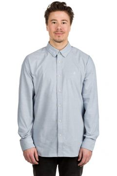 Volcom Oxford Stretch Shirt blauw(93741593)