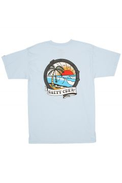 Salty Crew Portside T-Shirt blauw(116175670)