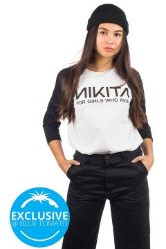 Nikita Wild Long Sleeve T-Shirt wit(85197494)