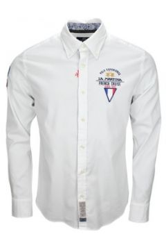 Chemise La Martina Chemise French Cruise blanche pour homme(88449548)