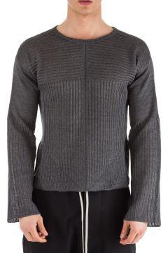 Men's crew neck neckline jumper sweater pullover biker(93857302)