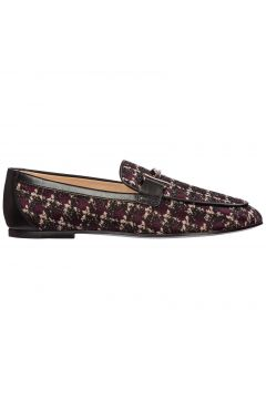 Women's leather loafers moccasins(116914616)