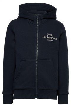 Jr Original Zip Hood Hoodie Pullover Blau PEAK PERFORMANCE(114802000)