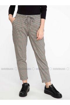 Black - Pants - DeFacto(110325394)