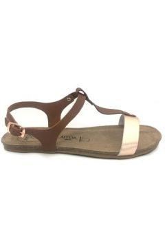 Sandales Amoa sandales SANARY Marron/Rose(101587472)