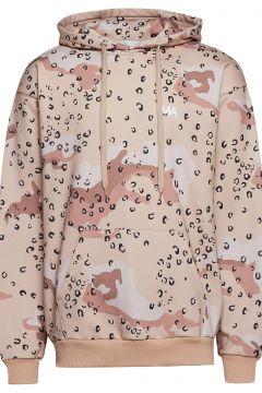 Jeremy Hoodie Camo/Leo Print Hoodie Pullover Pink MARTIN ASBJØRN(114152602)