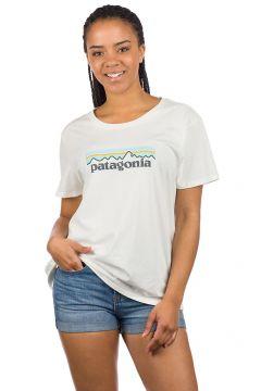 Patagonia Pastel P-6 Logo Organic Crew T-Shirt wit(85188437)