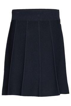 Selina Knit Skirt Kurzes Kleid Blau MORRIS LADY(109011340)