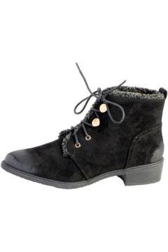 Boots The Divine Factory Bottine Lacet Noir(115476296)