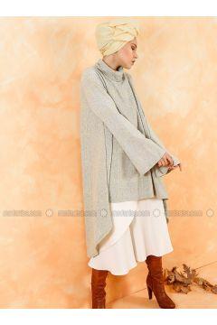 Polo neck - Multi - Gray - Sweat-shirt - Muni Muni(110330545)