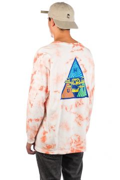 HUF Acid Skull TT Long Sleeve T-Shirt roze(114566189)