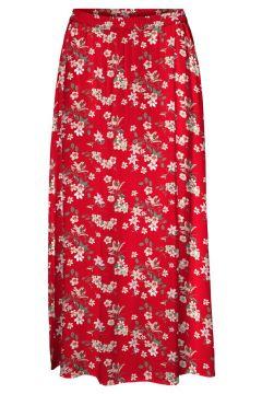 VERO MODA Taille Classique Jupe Longue Women red(116430848)