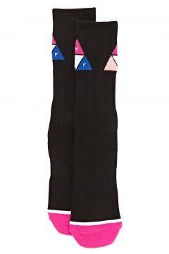 Huf Prism Triangle Fashion Socks - Black(115309744)