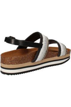 Sandales 5 Pro Ject sandales beige textile noir AC590(88469762)