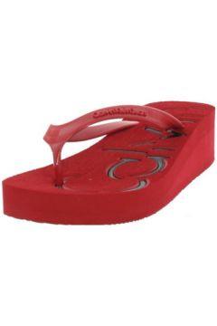 Sandales Calvin Klein Jeans Tongs Tamber Jelly ref_jim43299-rouge(88663903)