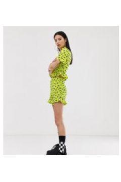 COLLUSION - Flatternde Shorts mit hübschem Print - Mehrfarbig(93960474)