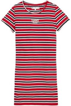 Robe enfant Tommy Hilfiger Kids MULTI STRIPE KNIT DRESS S/S(115505111)