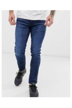 HUGO - 734 - Jeans stretch skinny lavaggio medio - Navy(93807981)