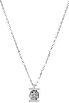 Collier Cleor Collier en Or 375/1000 Blanc et Diamant Blanc Femme(115492364)