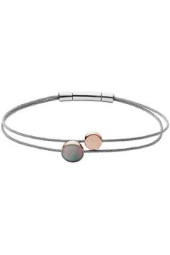 Bracelets Skagen Jonc en Acier Bicolore Femme(115427116)