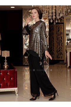 Black - Suit - Selma Sarı Design(110318637)