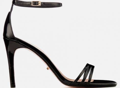 Dune Women\'s Marabella Barely There Heeled Sandals - Black - UK 3 - Schwarz(50512783)