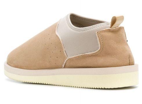 Suicoke slippers colour block - Beige 10(76578922)