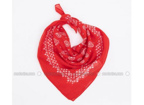 Red - Shawl - DeFacto(110325253)