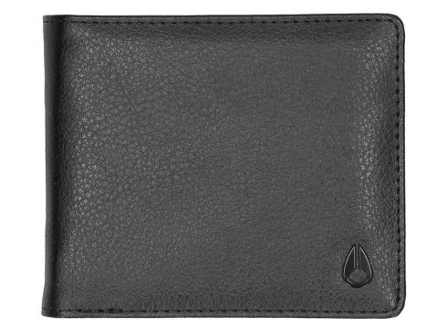 Nixon Pass Vegan Leather Coin Wallet zwart(85195871)