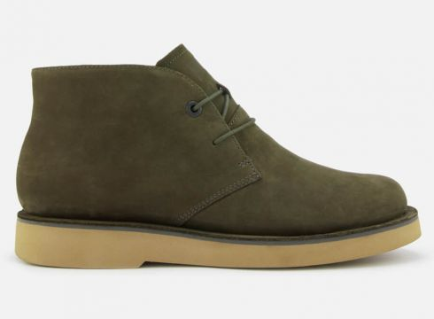 Camper Men\'s Tyre Desert Boots - Dark Green - UK 7 - Grün(58374840)