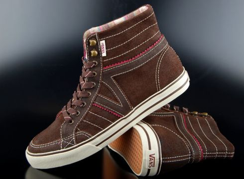 Vans Sneaker Corrie Hi Hiker Brown Turtledove(87045655)