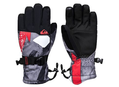 Quiksilver Mission Gloves rood(109249630)